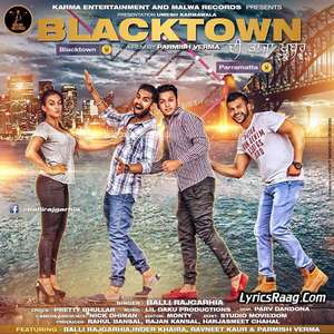 BlackTown Lyrics Balli Rajgarhia Ft Lil Daku