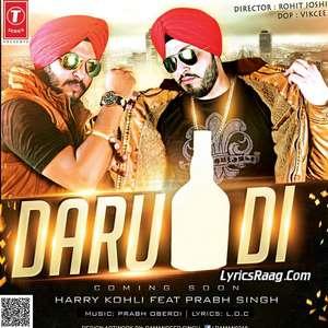 Daru Di Lyrics – Harry Kohli Ft Prabh Singh