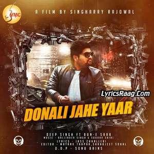 Donali Jahe Yaar Lyrics Deep Singh Feat. Bun-E-Saab