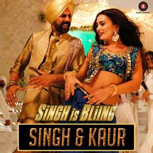 Singh And Kaur Lyrics – Singh Is Bling | Nindy Kaur,Raftaar & Manj Musik