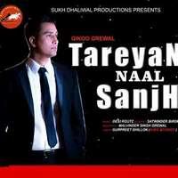 Tareyan Naal Sanjh Lyrics – Gikoo Grewal Feat Desi Routz