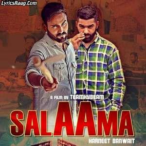 Salaama Lyrics – Harneet Banwait Mp3 Songs