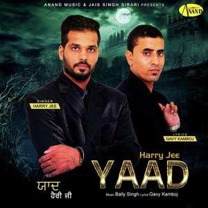 Yaad Lyrics Harry Jee Feat Bally Singh