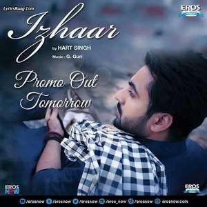 Izhaar Lyrics – Hart Singh 320 KBPS Mp3 Songs