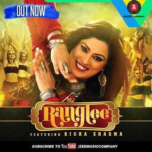 Ranglee Lyrics – Richa Sharma 320 KBPS Mp3 Songs