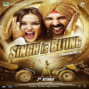 Singh Is Bling (2015) Movie All Songs Lyrics – Akshay Kumar & Amy Jackson