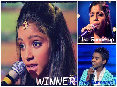 Winner Of Voice Punjab Chhotta Champ Season 2 is Simran Raj-min