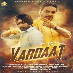 Vardaat Lyrics Daljit Bittu & Harnek Singh Songs