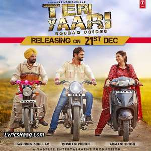 teri-yaari-lyrics-roshan-prince-new-punjabi-songs