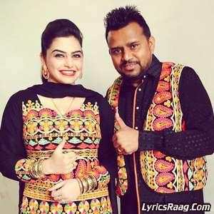 Black suit lyrics karamjit anmol nisha bano songs for Nisha bano with husband