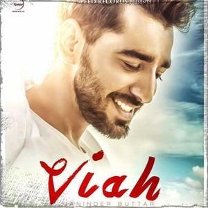 Maninder Buttar-viah-song-poster