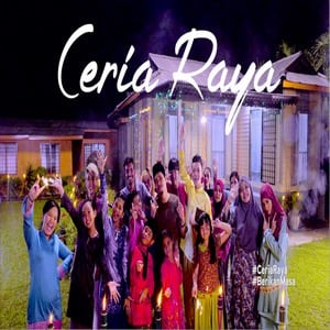 Lagu Raya Ceria Raya [MV] Mark Adam, Najwa Latiff & Ceria Popstar