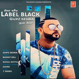 gupz-sehra-label-black-song-poster