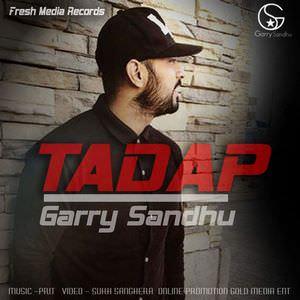 Garry-Sandhu-tadap--song-lyrics-mint-hawa-djpunjab-singer