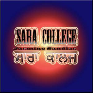 Jasmine Sandlas - Sara College Song Djpunjab