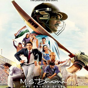 M.S Dhoni- The Untold Story Movie posters