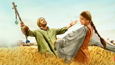 Diljit Dosanjh & Anushka Sharma from Phillauri with Dum dum song