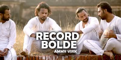 Record Bolde poster (Jugni Hath Kise Na Auni) Ammy Virk