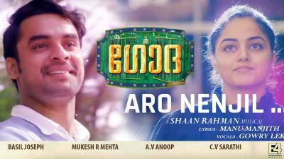 Aaro Nenjil  Song Lyrics Godha