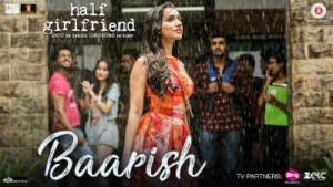 baarish song new poster