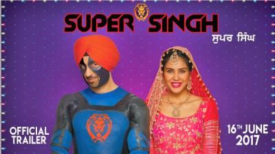 Super Singh Diljit Dosanjh Sonam Bajwa