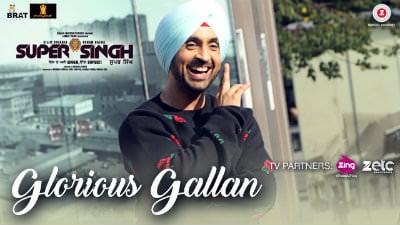 Glorious Gallan song Super Singh Diljit Dosanjh & Sonam Bajwa
