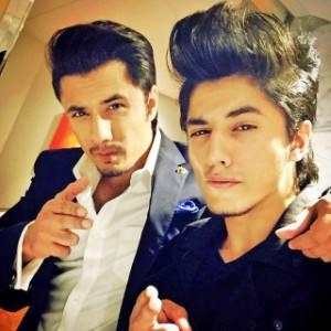 Ali Zafar & Danyal Zafar Brothers Selfie Image
