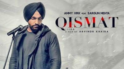 qismat song with lyrics ammy virk