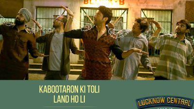 Teen Kabootar Song Lucknow Central