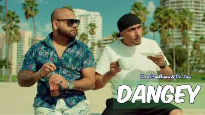 new DANGEY song ZORA RANDHAWA DR.ZEUS