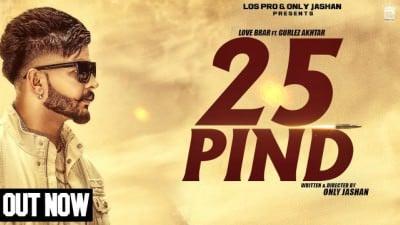 25 Pind-Love Brar Feat. Gurlej Akhtar
