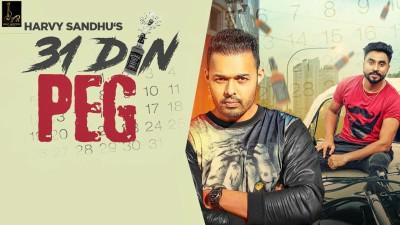 31 Din Peg song Harvy Sandhu