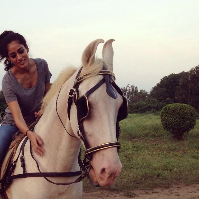 Horse Riding Diva Dhawan
