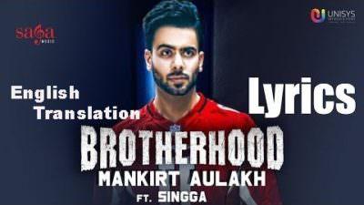 Brotherhood Lyrics (English Translation) – Mankirt Aulakh
