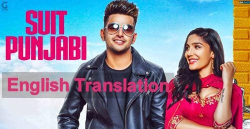 Suit Punjabi Lyrics (English Translation) - Jass Manak