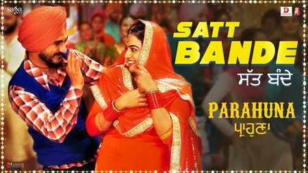 Satt Bande lyrics (Parahuna) Rajvir Jawanda & Tanishq Kaur