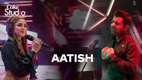 aatish song lyrics coke studio shuja haider