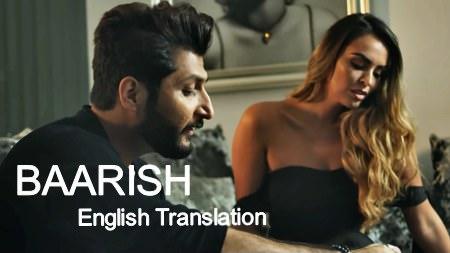 Baarish Lyrics (English Translation) - Bilal Saeed