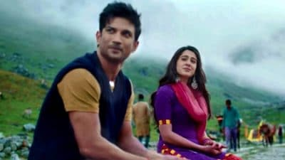 Kedarnath Qaafirana translation lyrics