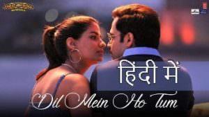 dil mein ho tum song lyrics in Hindi(1)
