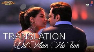 Dil Mein Ho Tum Lyrics (with Translation) – Cheat India