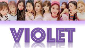 Let's Play Cherry Bullet - Single voilet lyrics
