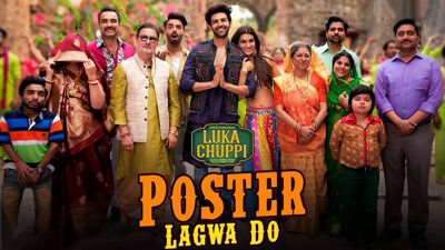 Luka Chuppi Poster Lagwa Do Song lyrics