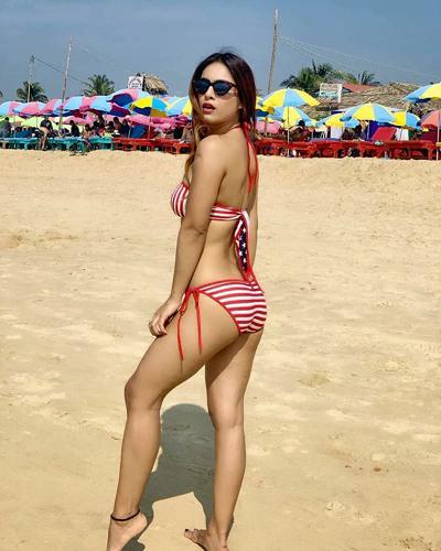 Neha Malik in bikini