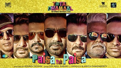 Paisa Yeh Paisa song lyrics Total Dhamaal