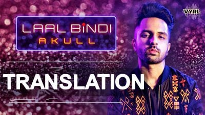laal bindi lyrics meaning in english