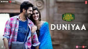 Duniya Lyrics Hindi – Akhil | Luka Chuppi Songs