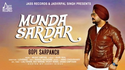 Munda Sardar song Gopi Sarpanch