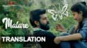 Premam Malare lyrics in english meaning