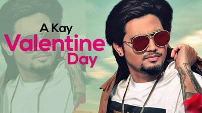 Valentine Day song lyrics A Kay
